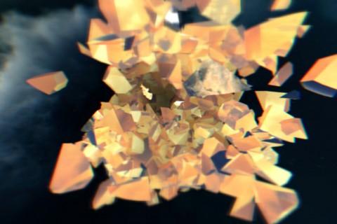 Break the World in WebGL
