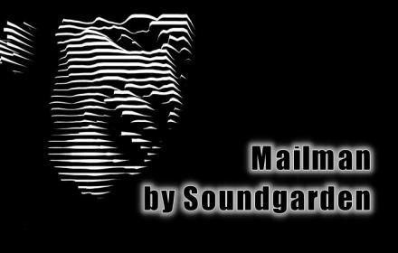 Music visualization of Mailman by Soundgarden