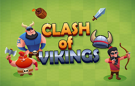 Clash of Vikings - HTML5 game