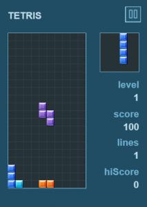 tetris pixijs robotlegs palidor
