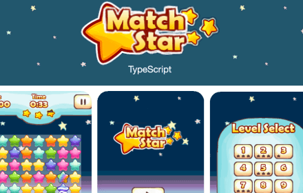Match Star - demo game for robotlegs-pixijs integration
