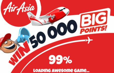 Air Asia HTML5 Game