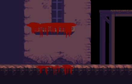 Bloody Dripping Effect